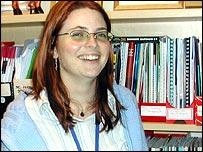 School behaviour manager Rachel Turney