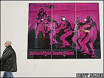 Schlachtfeld Deutschland XI/78 (Battlefield Germany XI/78) by Katharina Sieverding