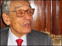 Mr Boutros Boutros Ghali