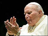 Pope John Paul II,  31 January 2005