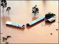 Inundación en Kenia