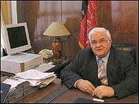 Afghan defence minister General Abdul Rahim Wardak