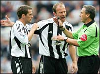 Michael Owen and Alan Shearer