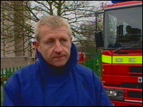 Roy Wilsher, deputy chief fire officer with Hertfordshire Fire and Rescue Service
