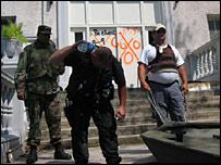 Troops in New Orleans