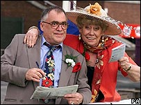 Street stars Bill Tarmey and Liz Dawn