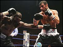 Evan Ashira and Joe Calzaghe
