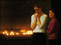 Catholics in Westminster Cathedral, London