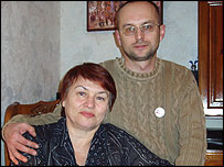 Igor Marinich and his wife