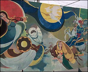 Baghdad mural