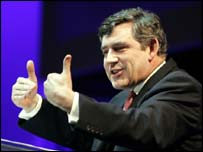 UK Chancellor of the Exchequer Gordon Brown