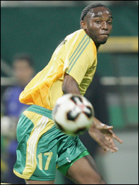 South Africa and Porto striker Benni McCarthy