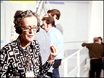 Joan Marsden during the 1974 General Election