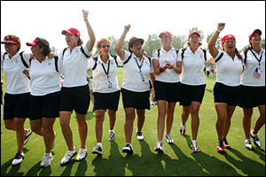 America's victorious Solheim Cup team