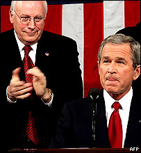 President Bush and Dick Cheney