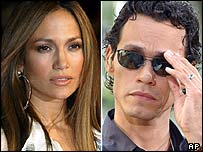 Jennifer Lopez and husband Marc Anthony