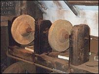 An 1867 jet carving workshop