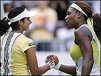 Serena and Sania