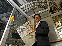 The Guardian editor, Alan Rusbridger