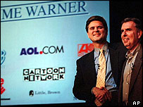 Steve Case and Gerald Levin
