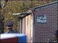 Mosque in Helden