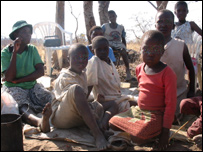 Zimbabweans evicted from their homes