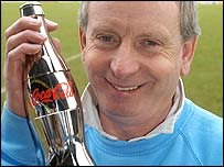 Cardiff City manager Lennie Lawrence