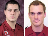 The two firefighters who died