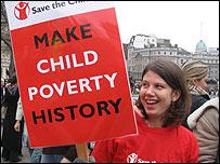 Одна из участниц демонстрации