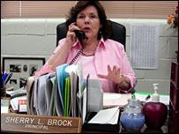 Westdale Middle School principal Sherry Brock