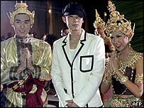 Vaness Wu of boy band F4 at MTV Asia Aid