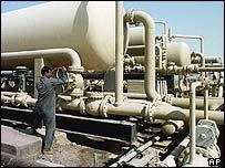 Instalación petrolera en Irak