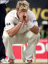 Shane Warne was unable to save Australia this time