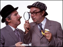 Eric Morecambe and Ernie Wise, BBC