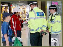 Children questioned by police
