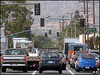 Traffic lights go out in Los Angeles