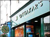 Ottakar's book store