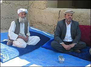 Village elder with local governor