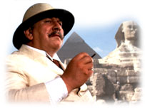 Peter Ustinov as Hercule Poirot
