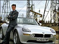 Pierce Brosnan as James Bond