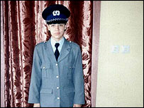 Nahid Mirzad, policewoman