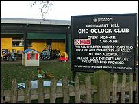 Centro de juegos para niños