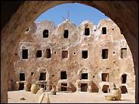 A Berber granary, Libya