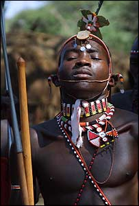 Samburu moran or warrior (Image: Anna Parkinson)