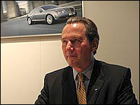 Franz-Josef Paefgen, Bentley chief executive