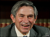 World Bank President Paul Wolfowitz