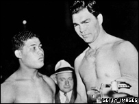 Schmeling and Joe Louis