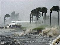 Vientos huracanados en La Florida