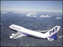 Avi�n Boeing 747.