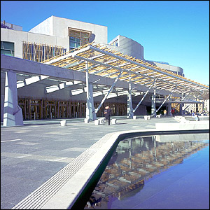 Scottish Parliament - picture taken by Keith Hunter